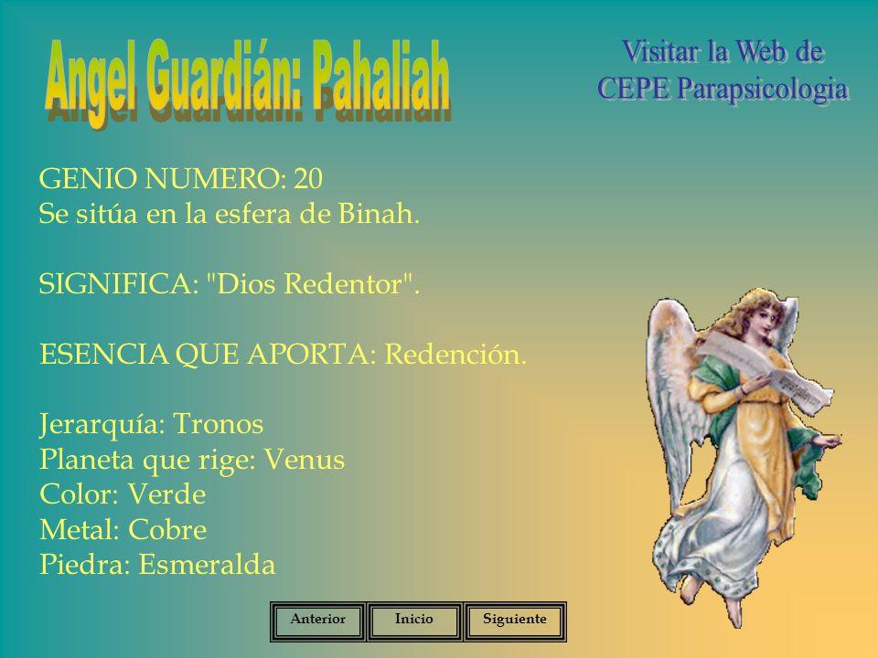 Angel Guardián: Pahaliah