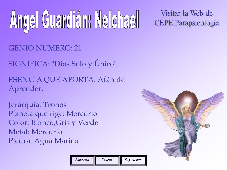 Angel Guardián: Nelchael