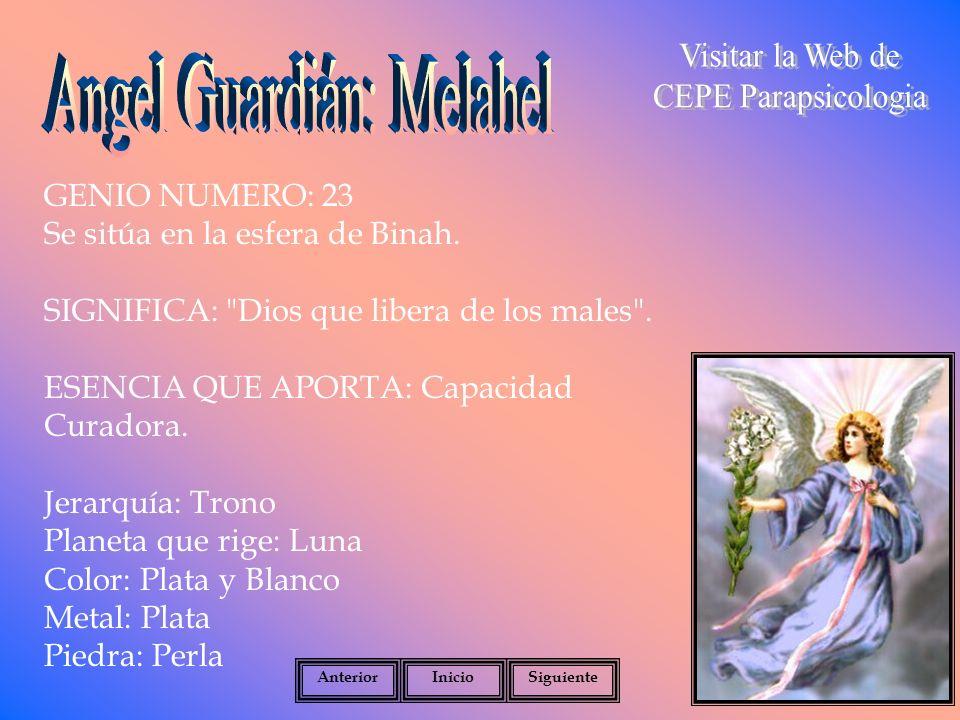 Angel Guardián: Melahel