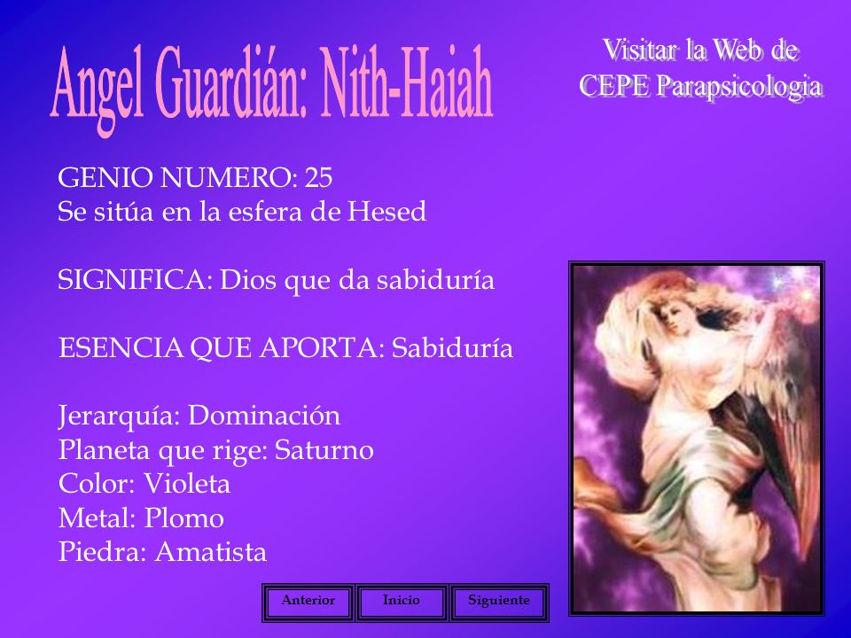 Angel Guardián: Nith-Haiah