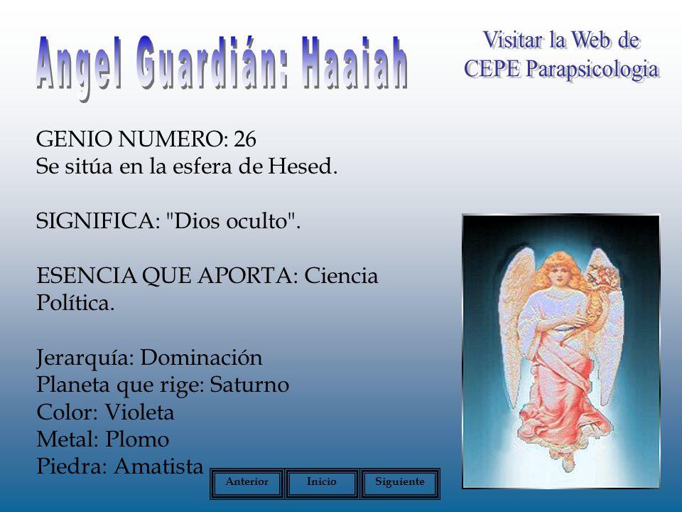 Angel Guardián: Haaiah