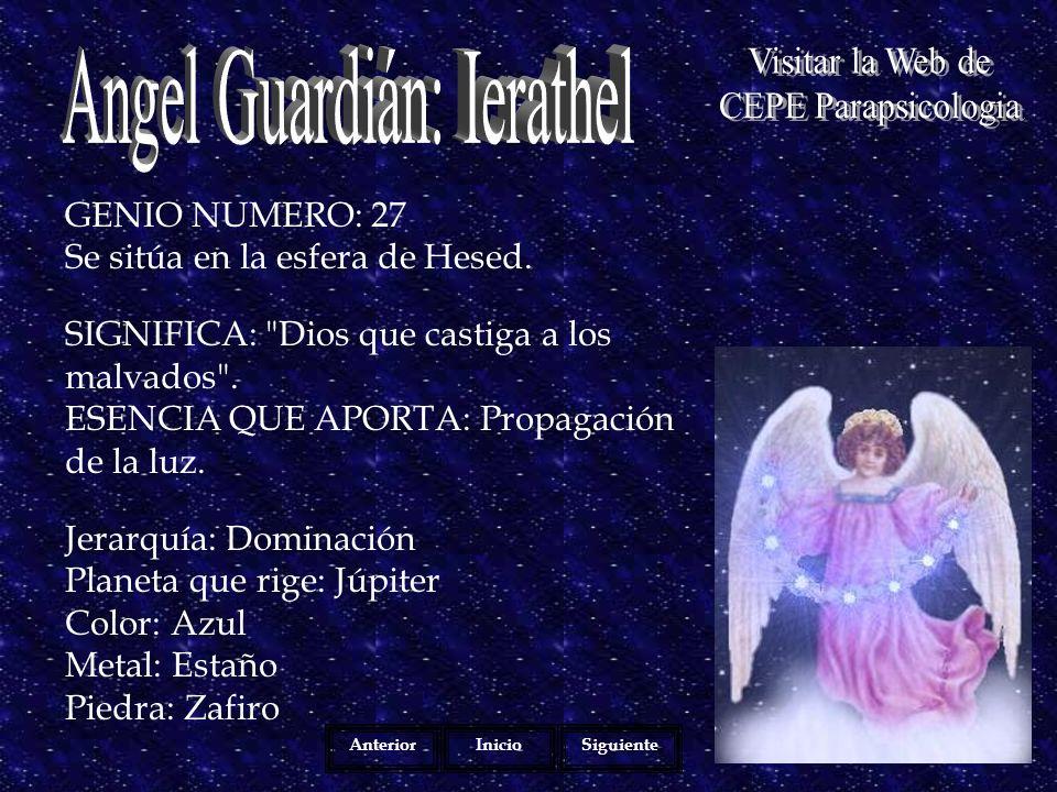 Angel Guardián: Ierathel