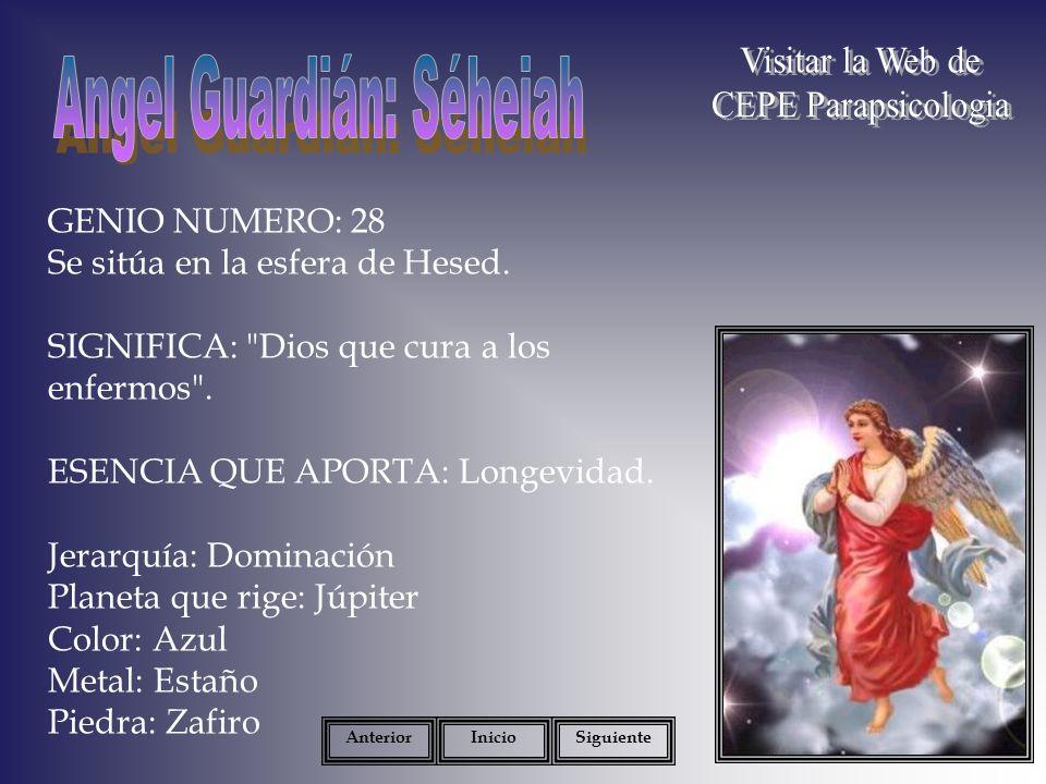 Angel Guardián: Séheiah