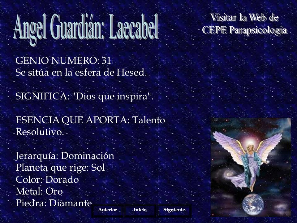 Angel Guardián: Laecabel