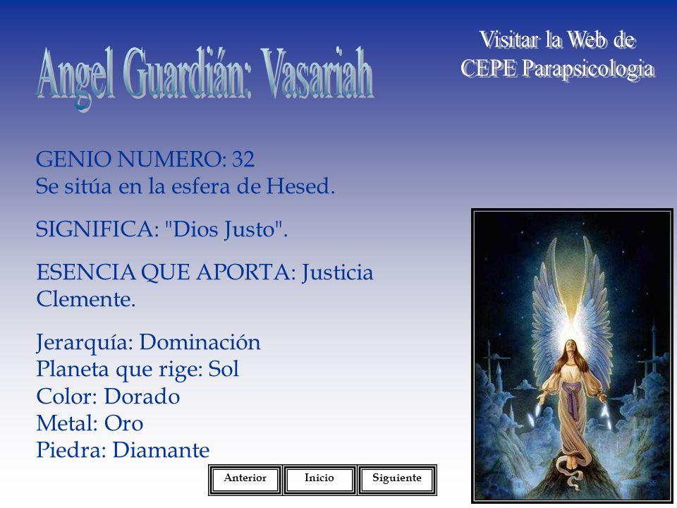 Angel Guardián: Vasariah
