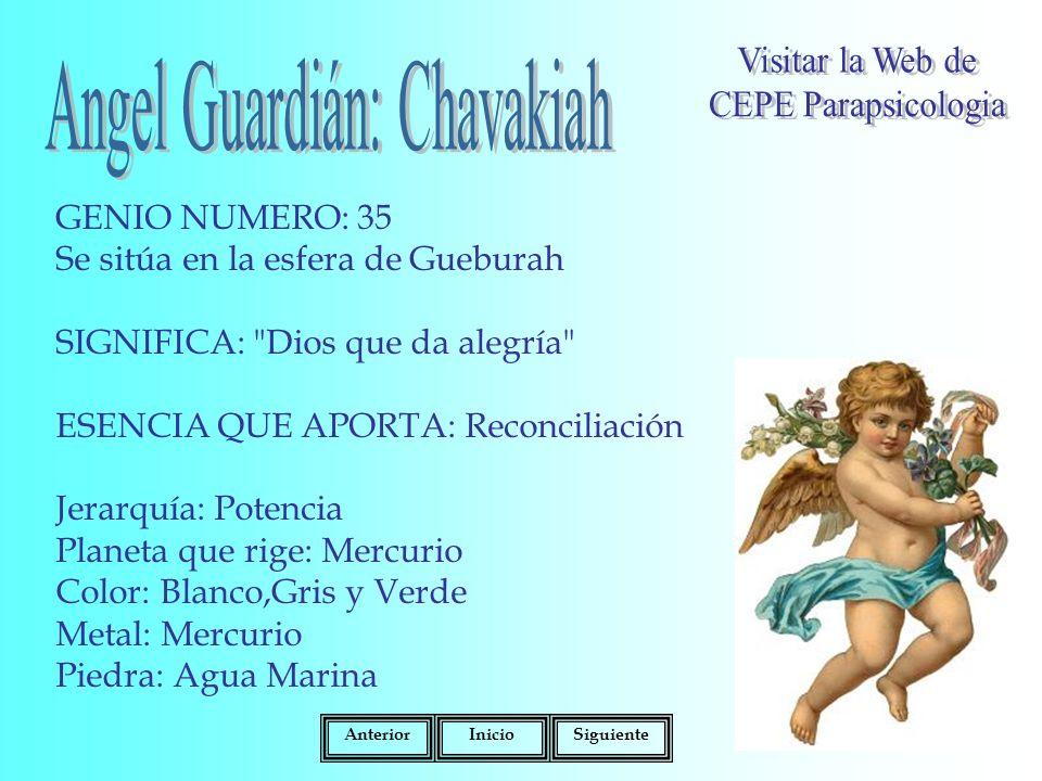Angel Guardián: Chavakiah