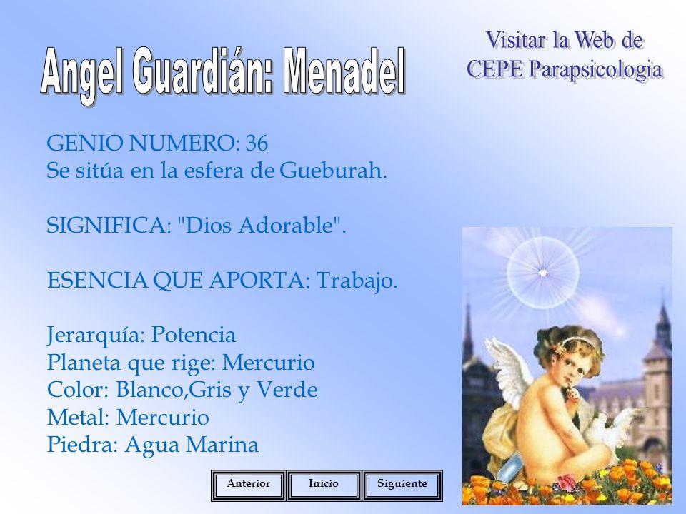 Angel Guardián: Menadel