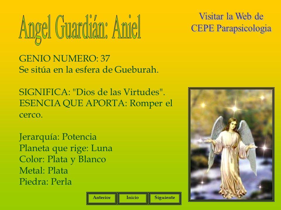 Angel Guardián: Aniel Visitar la Web de CEPE Parapsicologia