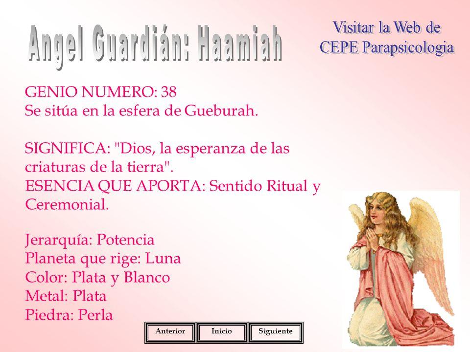 Angel Guardián: Haamiah