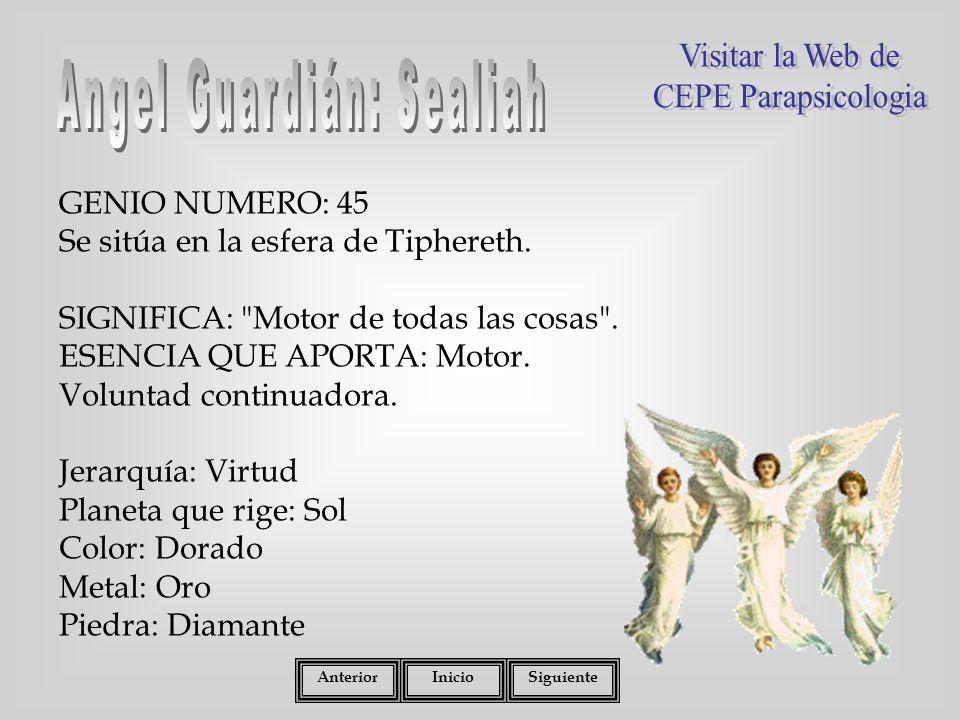 Angel Guardián: Sealiah