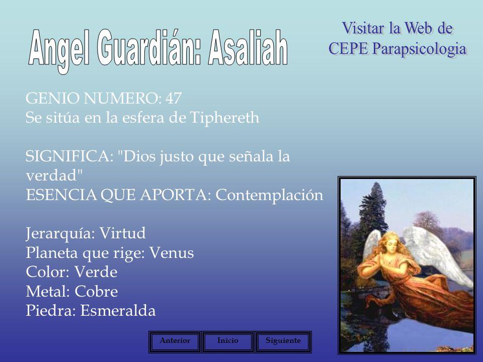 Angel Guardián: Asaliah