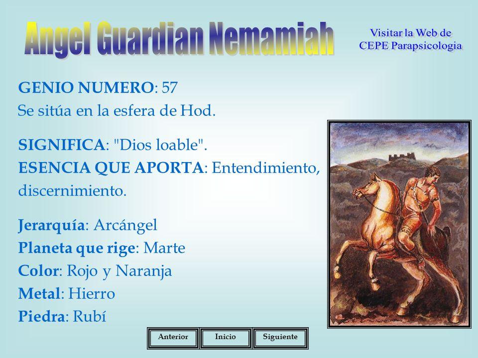 Angel Guardian Nemamiah