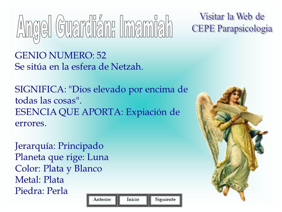 Angel Guardián: Imamiah