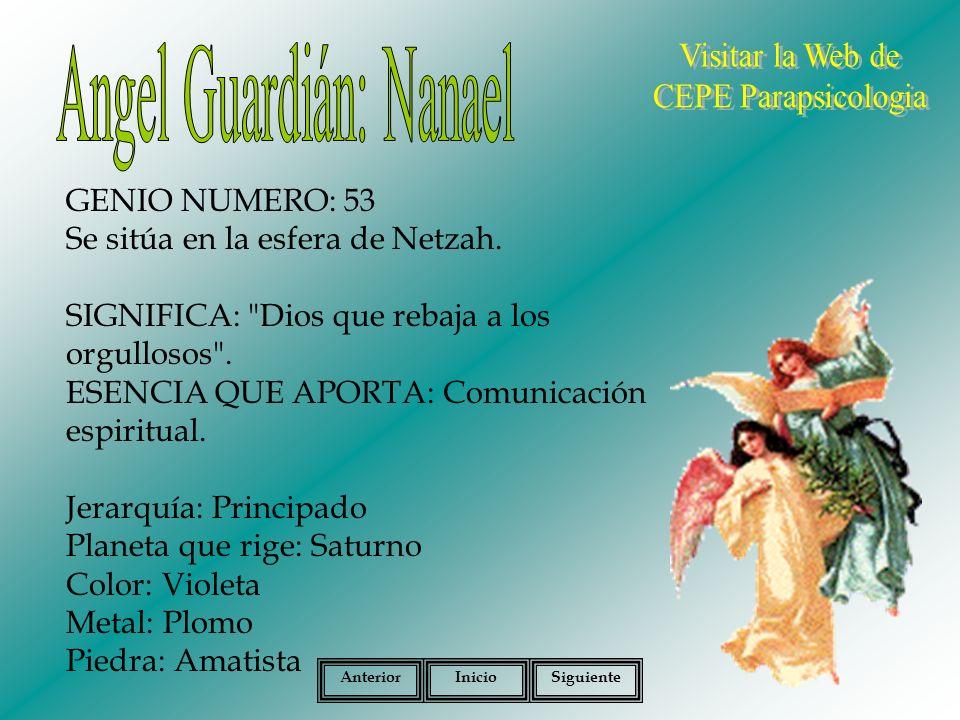 Angel Guardián: Nanael