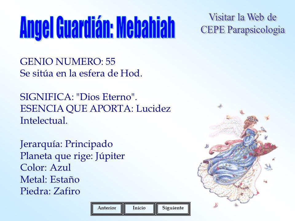 Angel Guardián: Mebahiah