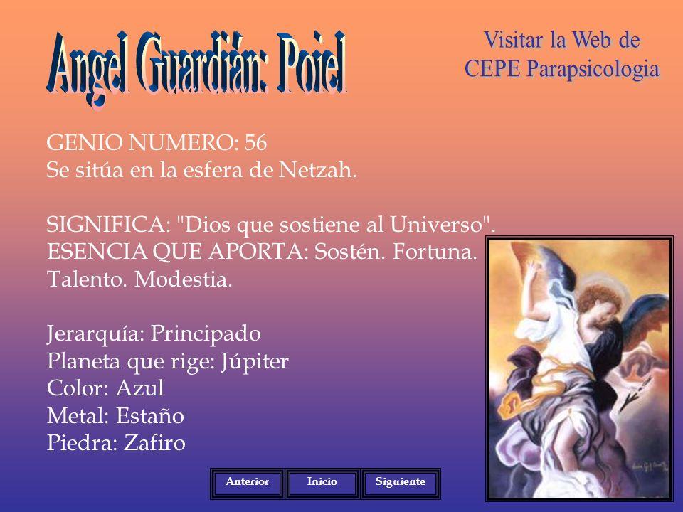 Angel Guardián: Poiel Visitar la Web de CEPE Parapsicologia