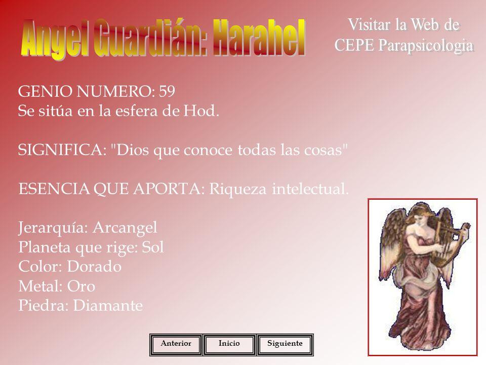 Angel Guardián: Harahel