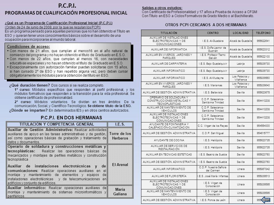 TITULACIÓN Y COMPETENCIA GENERAL