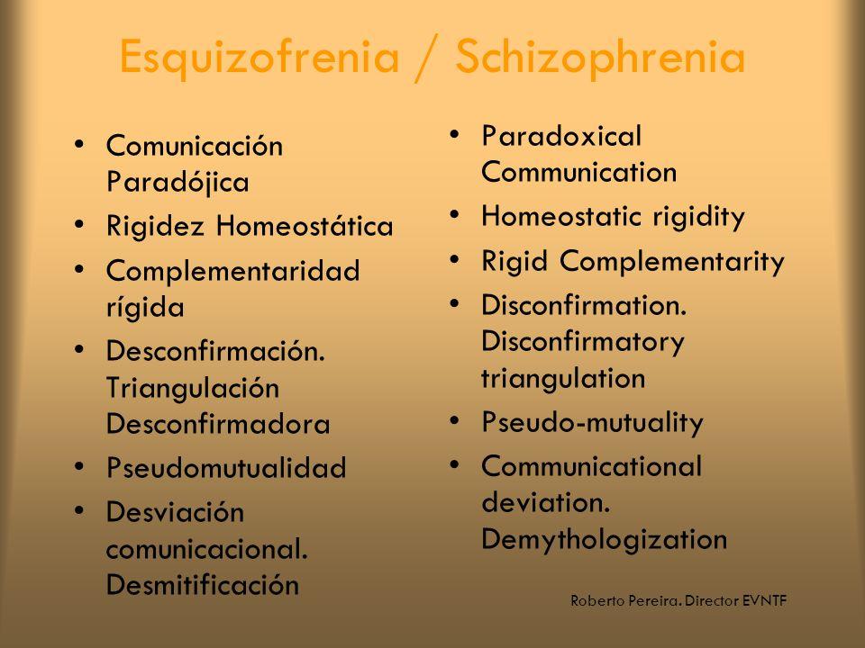 Esquizofrenia / Schizophrenia