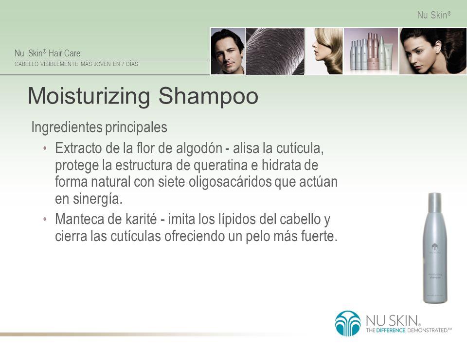 Moisturizing Shampoo Ingredientes principales