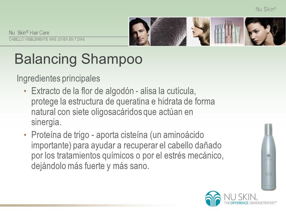 Balancing Shampoo Ingredientes principales