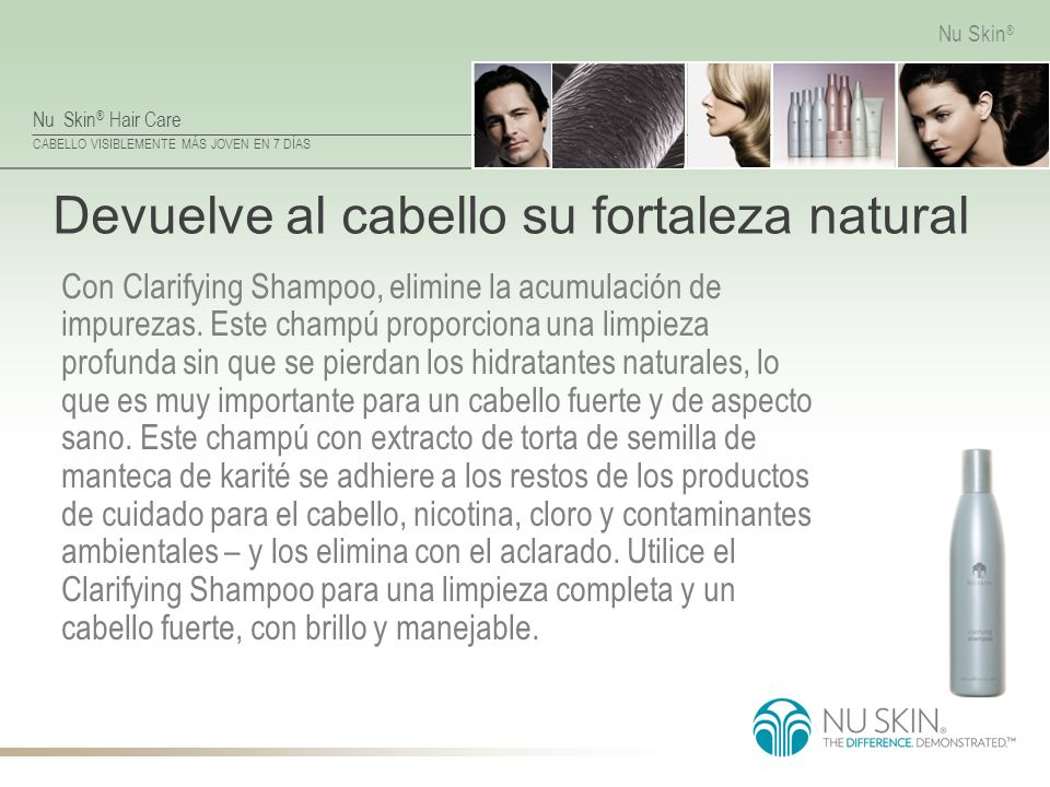 Devuelve al cabello su fortaleza natural