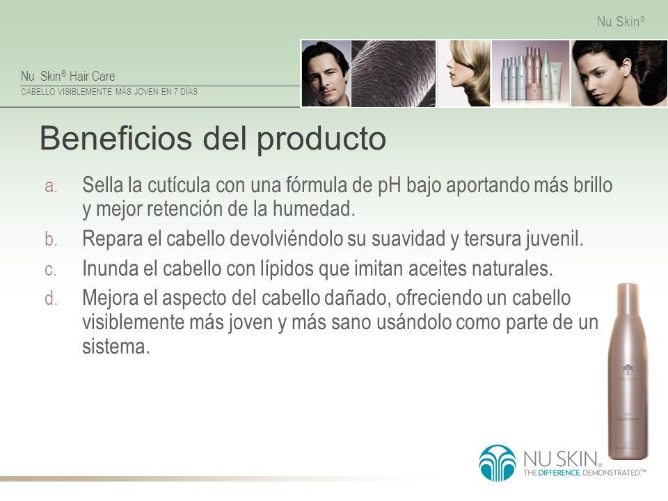 Beneficios del producto