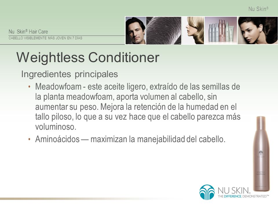 Weightless Conditioner