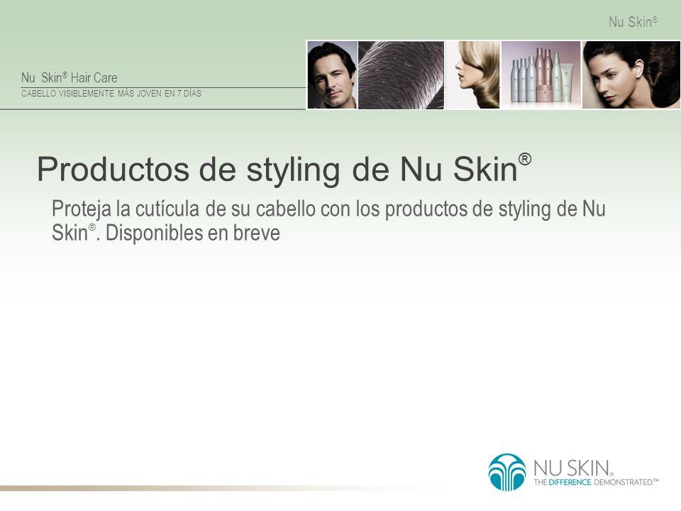Productos de styling de Nu Skin®