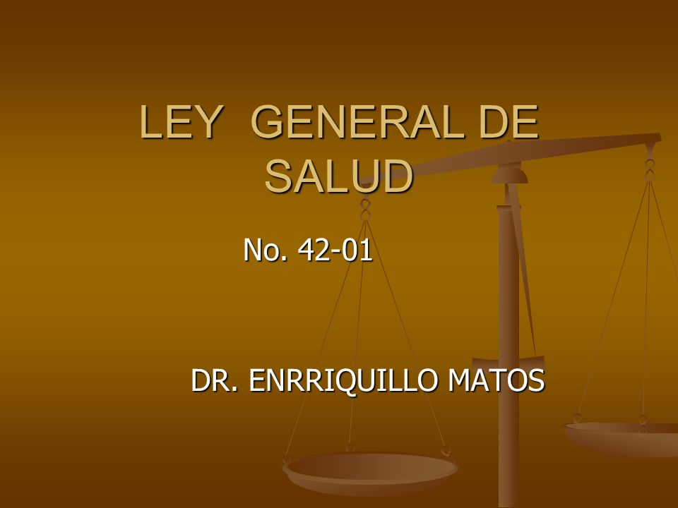 No. 42-01 DR. ENRRIQUILLO MATOS