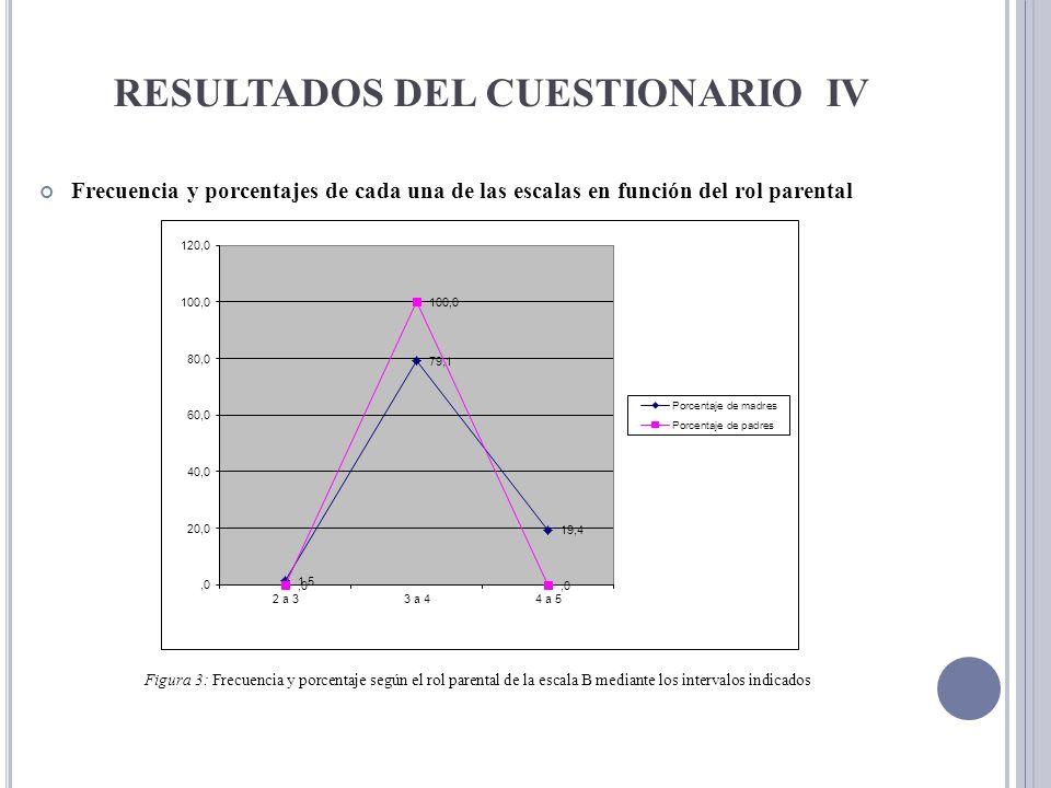 RESULTADOS DEL CUESTIONARIO IV