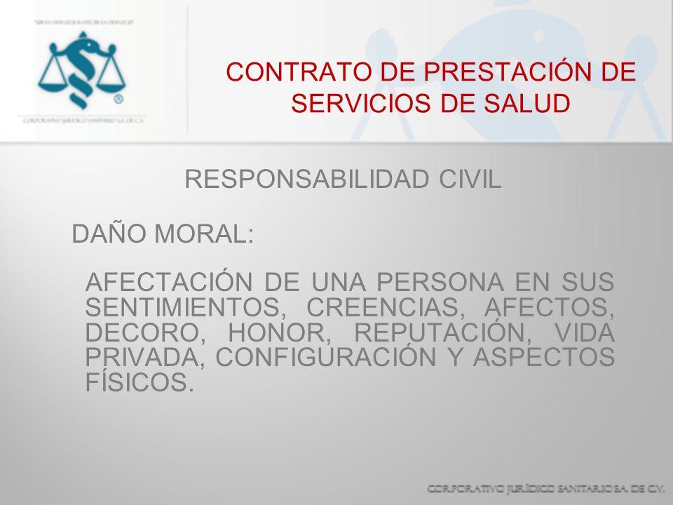 CONTRATO DE PRESTACIÓN DE SERVICIOS DE SALUD