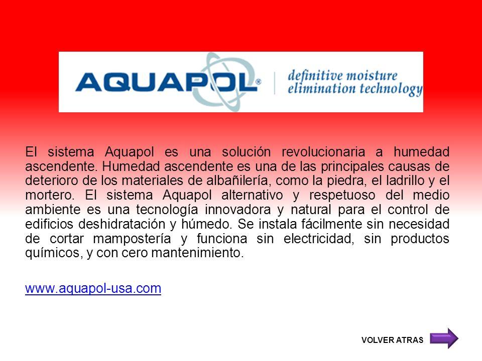 El sistema Aquapol es una solución revolucionaria a humedad ascendente