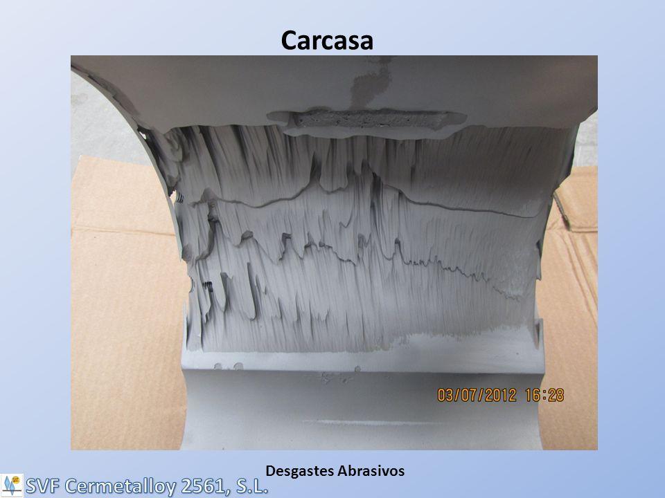 Carcasa Desgastes Abrasivos SVF Cermetalloy 2561, S.L.