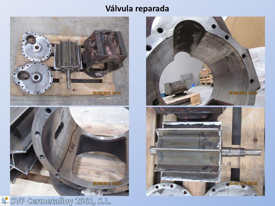 Válvula reparada SVF Cermetalloy 2561, S.L.