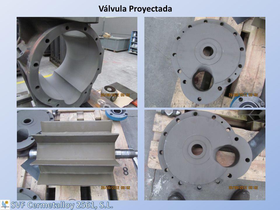 Válvula Proyectada SVF Cermetalloy 2561, S.L.