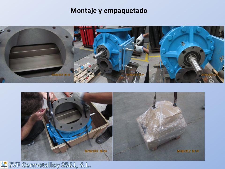 Montaje y empaquetado SVF Cermetalloy 2561, S.L.