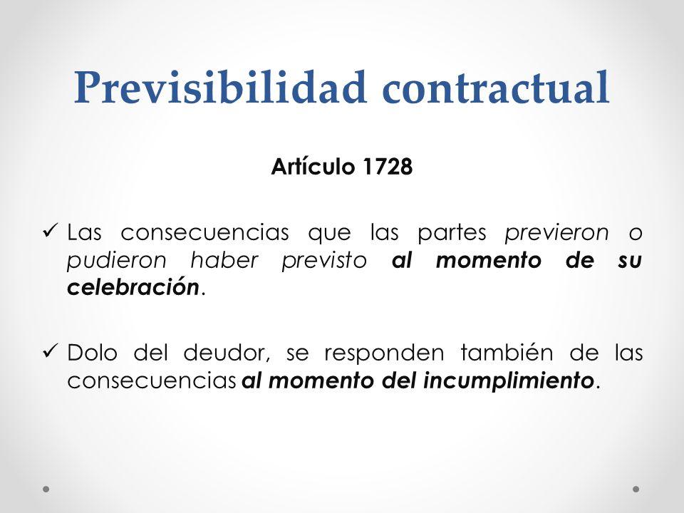 Previsibilidad contractual