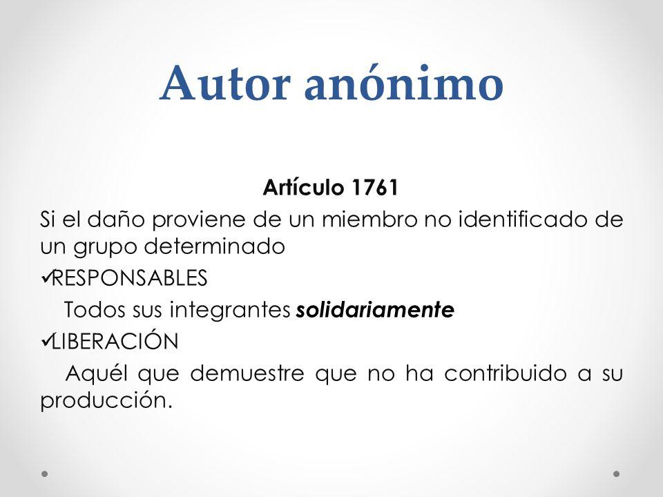 Autor anónimo Artículo 1761
