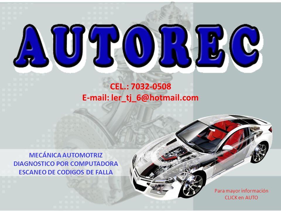 CEL.: 7032-0508 E-mail: ler_tj_6@hotmail.com