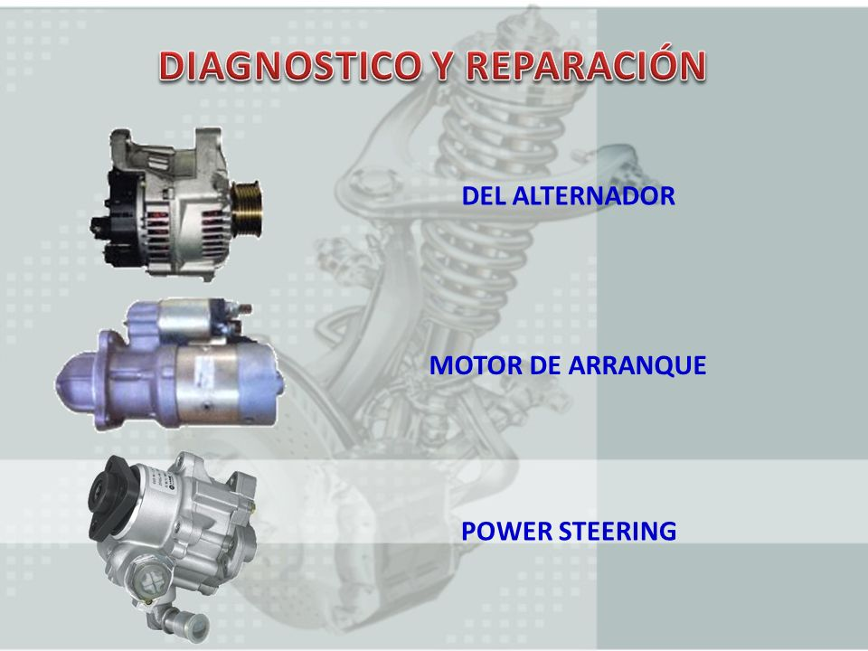DIAGNOSTICO Y REPARACIÓN