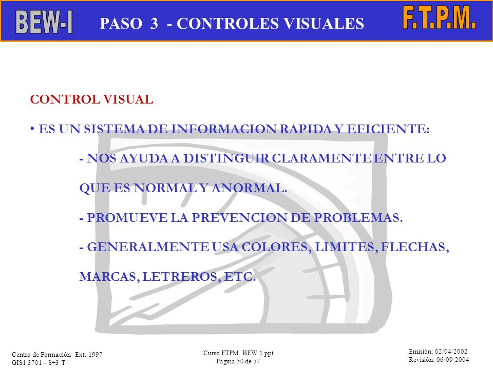 PASO 3 - CONTROLES VISUALES