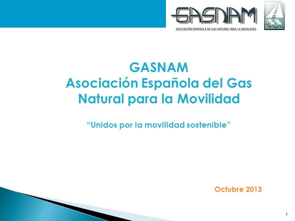 GASNAM Asociación Española del Gas Natural para la Movilidad