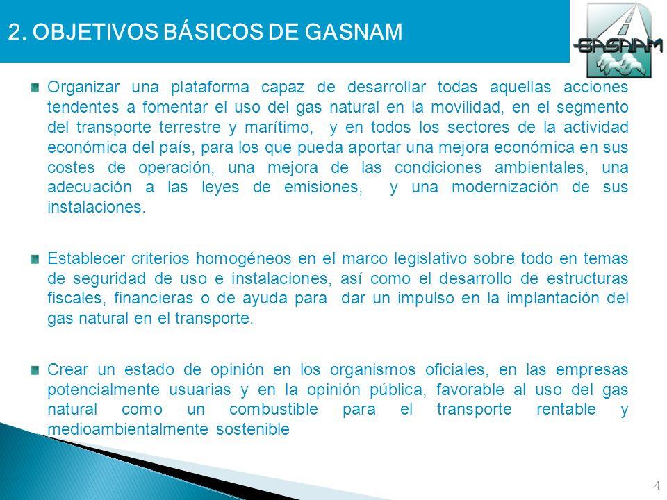 2. OBJETIVOS BÁSICOS DE GASNAM