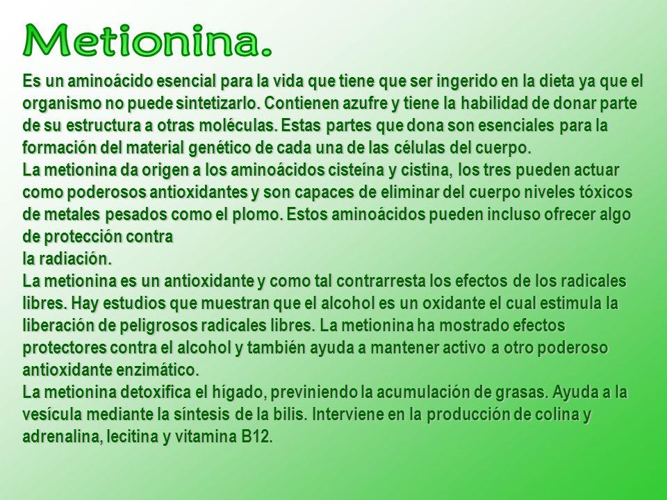 Metionina.
