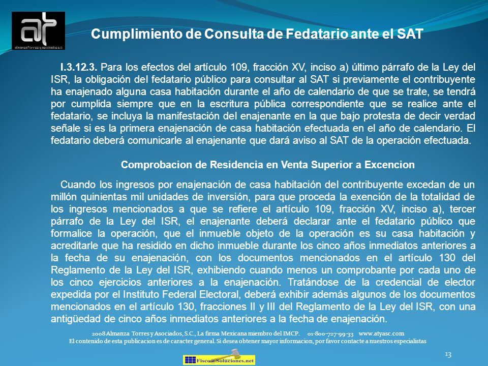 Cumplimiento de Consulta de Fedatario ante el SAT