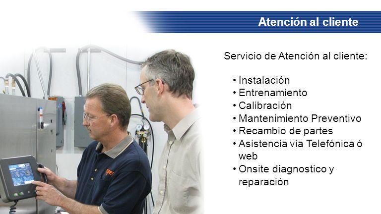 Atención al cliente Servicio de Atención al cliente: Instalación