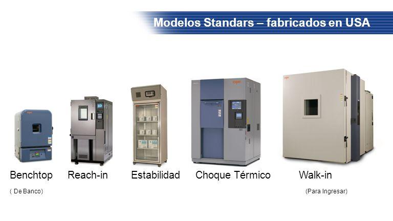 Modelos Standars – fabricados en USA