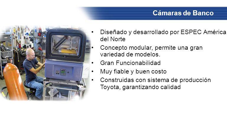 Cámaras de Banco Diseñado y desarrollado por ESPEC América del Norte