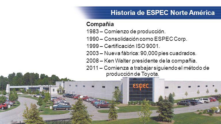 Historia de ESPEC Norte América